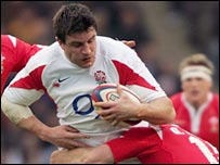 England captain Martin Corry