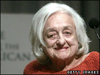 Betty Friedan in New York in 2004