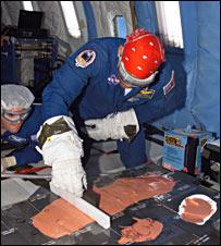 Test on parabolic flight (Nasa)