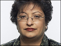 Zarin Patel, BBC group finance director