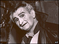 Al Lewis as Grandpa in the 1960s series The Munsters