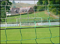TNS Llansantffraid's Treflan ground