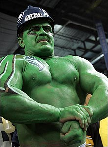 "And he will have the full support of the surprising Seattle ""Seahulk"""