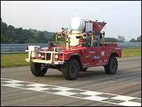 Red Team Sandstorm vehicle