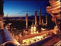 A BASF chemical plant in Port Arthur, Texas