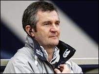 Scotland coach Frank Hadden