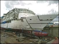Aker shipyard