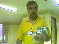 Habib, a hospital cleaner at Birmingham Heartlands