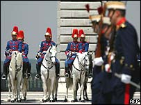 Royal Palace guards