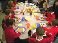 Nurture class eat breakfast
