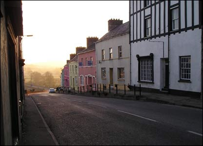 Anthony Phillips sent in this picture of a Llandeilo street