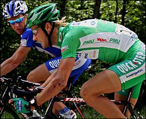 Guido Trenti and Tom Boonen