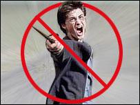 Montaje con el rostro de Daniel Radcliffe