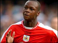 Leroy Lita in action for former club Bristol City