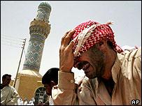 Funeral for Sunni men in Iraq