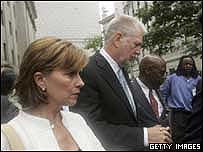 Kristie and Bernie Ebbers