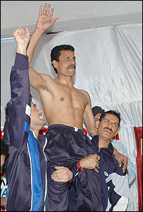 Martial arts instructor Bibhuti Bhushan Nayak