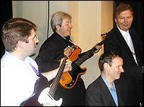 (l-r) Kevin Brennan, Ian Cawsey, Pete Wishart and Greg Knight