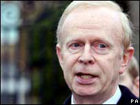 UUP leader Sir Reg Empey