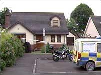 Home where bodies were found
