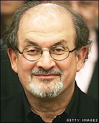 Salman Rushdie, author of Satanic Verses