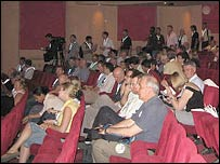 Delegates at TEDGlobal 2005