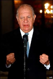 Ricardo Lagos, presidente de Chile
