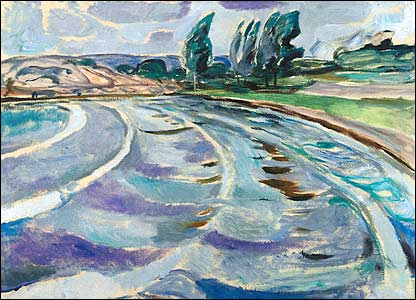 Edvard Munch's The Wave