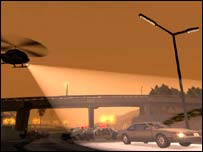 Screenshot from GTA: San Andreas, Rockstar