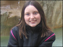 Kirstie Peacock, age 12