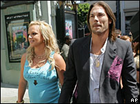 Britney Spears with husband Kevin Federline