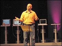 Leading digital thinker Clay Shirky