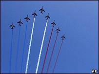 Jets over Paris
