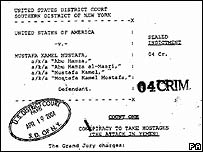 US extradition papers
