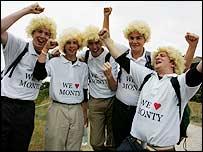 Monty's fan club