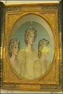 The portrait of Princess Diana