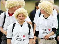 Colin Montgomerie has his own army of fans