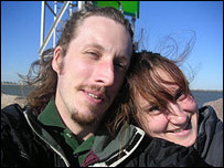 Chris Cope and his wife Rachel