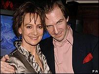 Francesca Annis, Ralph Fiennes