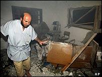Islamic centre in Jabaliya after Israeli strike