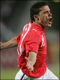 Egypt striker Amr Zaki