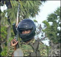Tamil Tiger patrol