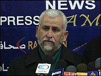 Said Seyam, jefe de relaciones exteriores de Hamas