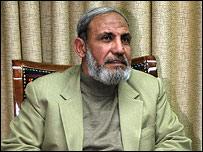 Mahmoud Al-Zahar, cofundador de Hamas