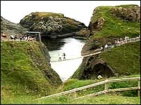Carrick-a-Rede rope-bridge