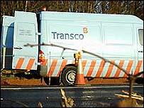 A Transco van
