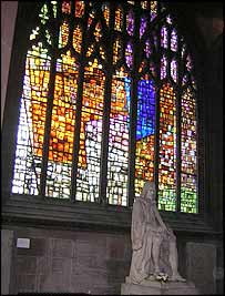 Manchester Cathedral's Revelation window