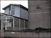 Scottish Borders Council headquarters