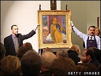 Gauguin's Deux Femmes