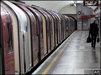Empty Tube platform